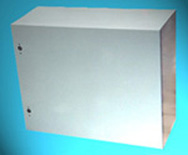 NEMA 12 Enclosure, Powder Coated, 1/4 Turn Latches Rating: Dust Proof & Water Resistant